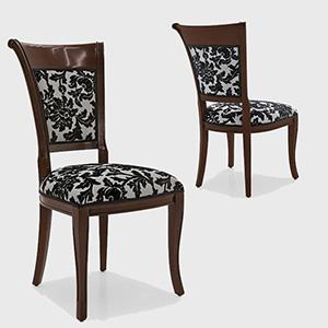 стільці з дерева класика фото